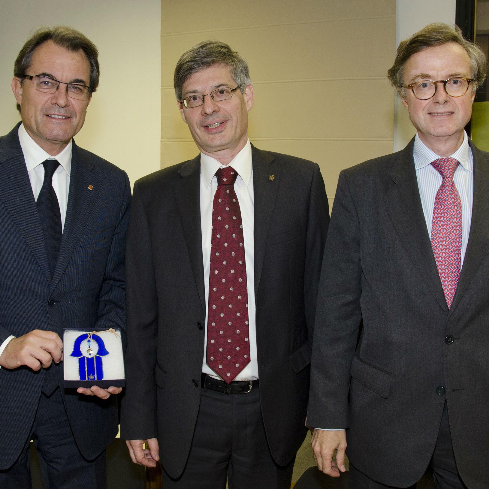 הסכם לשיתוף פעולה מחקרי נחתם עם האוניברסיטאות של קטלוניה