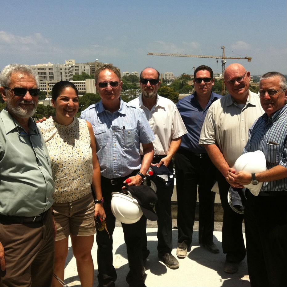 סגני נשיא לקשרי חוץ ופיתוח משאבים מאוניברסיטאות בארץ ביקרו בקמפוס אוניברסיטת תל-אביב