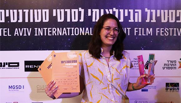 """הסרט """"תמונת ניצחון"""" של עדי משניות קצר פרסים בפסטיבל לסרטי סטודנטים"""