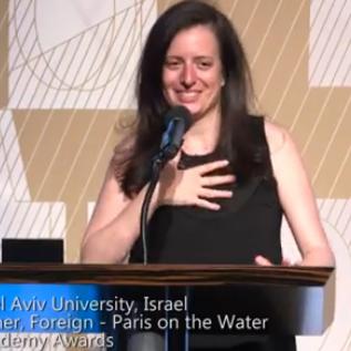 """""""פריז על המים"""", סרטה של הדס אילון, זכה במדליית הכסף באוסקר לסטודנטים"""