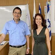 """מפגש של חוקרי אוניברסיטת תל אביב עם מובילים טכנולוגיים בחברת """"אלביט"""""""