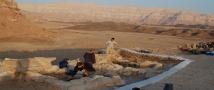 בית השער בגבעת העבדים במהלך החפירות (צילום: ארז בן יוסף ומשלחת חפירות תמנע של אוניברסיטת תל אביב)