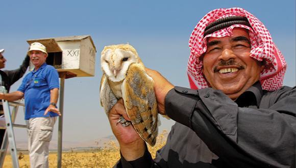 סודות של ציפורים, בינה מלאכותית, חקלאות ירוקה ושלום במזרח התיכון