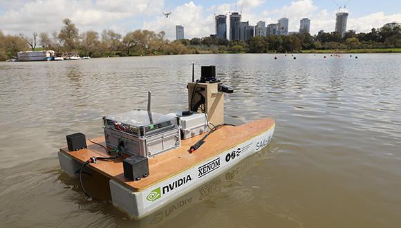 הסירה האוטונומית של אוניברסיטת תל אביב