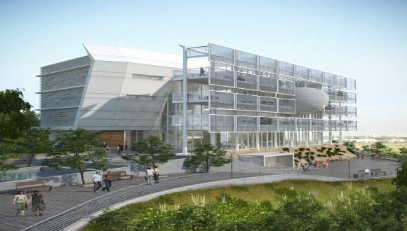"""הבניין הירוק של ביה""""ס ללימודי הסביבה ע""""ש פורטר"""