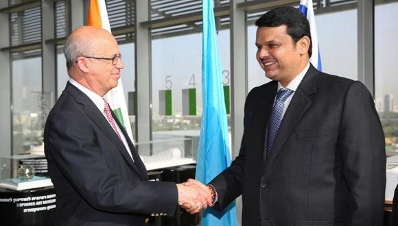 ראש מדינת מהאראשטרה בהודו קורא להקים פארק תעשייה משותף ישראלי-הודי