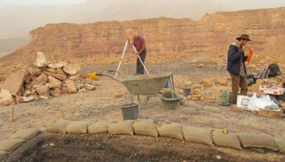 תגלית היסטורית לחוקרים מאוניברסיטת תל-אביב: מכרות המלך בפארק תמנע - מימי המלך שלמה