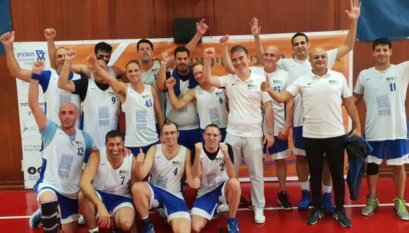 נבחרת הכדורסל של אוניברסיטת תל אביב זכתה באליפות האוניברסיטאות השנייה שהתקיימה בטכניון