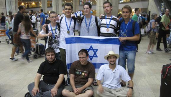 הנבחרת הישראלית באולימפיאדת המתמטיקה
