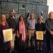ארבעה דוקטורנטים מבית הספר למדעי היהדות זכו במלגת נשיא המדינה למצוינות ולחדשנות מדעית