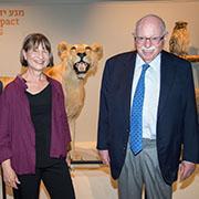 """הצצה ראשונה לאוספי הטבע הלאומיים במוזיאון הטבע ע""""ש שטיינהרדט באוניברסיטת תל אביב"""