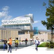 """אגף חדש לבי""""ס לאדריכלות"""