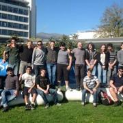 משלחת תלמידים בתכנית לטיפוח מדעני וממציאי העתיד שבה מביקור במאיץ החלקיקים CERN שבשוויץ