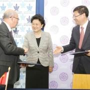 """נחתם הסכם בין אוניברסיטת ת""""א ואוניברסיטת צ'ינגחואה, בייג'ין, להקמת מרכז המחקר המשותף """"שין"""""""