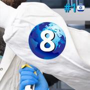 מקום ראשון בישראל, מקום שמיני בעולם במדד פיצ'בוק 2020
