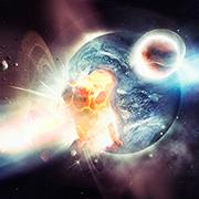 לראות ולמשש את היקום: גלי כבידה נצפו מהתמזגות שני כוכבי נויטרונים שלוותה בפיצוץ אדיר