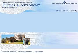 TAUSchool of Physics and Astronomy