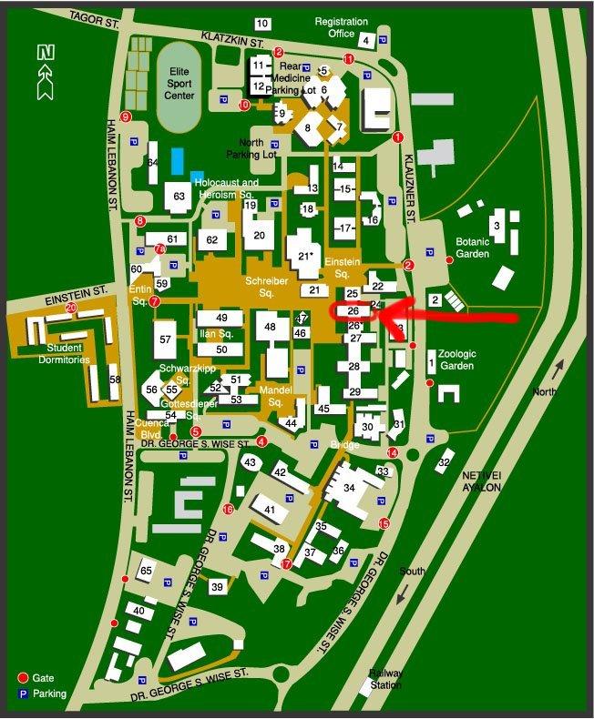 tel aviv university campus map Quantum Group Tel Aviv University tel aviv university campus map