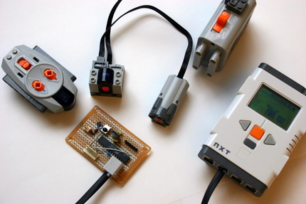 an infra red link using an avr (lego mindstorms nxt) photodiode in proteus disadvantages of infrared sensor
