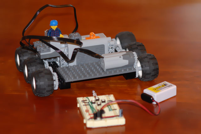 An Infra-Red Link Using an AVR (Lego Mindstorms NXT)