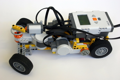 Shifting Gears A Car With A Transmissionlego Mindstorms Nxt