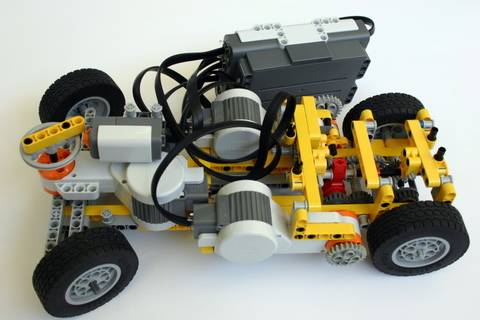 Shifting Gears A Car With A Transmission Lego Mindstorms Nxt