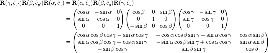 Euler angles - Knowino
